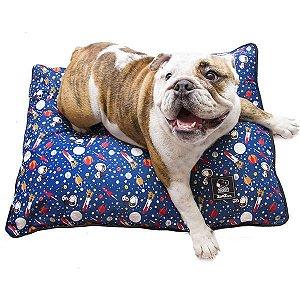 Almofadão Cachorro Snoopy Astronauta G 20 x 60 x 80