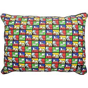 Almofadão Cachorro Snoopy Quadrinho G 20 x 60 x 80