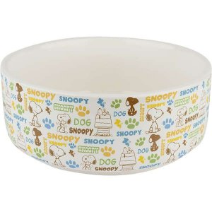 Comedouro Cerâmica Zooz Pets Snoopy MU2 500ml