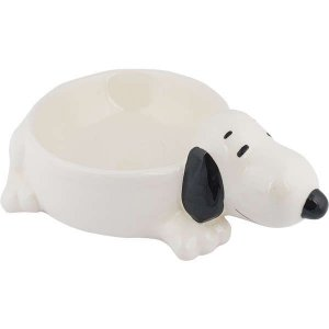 Comedouro Cerâmica Zooz Pets Snoopy Snop3D 200ml