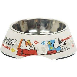 Comedouro Melamina Zooz Pets Snoopy 100 01