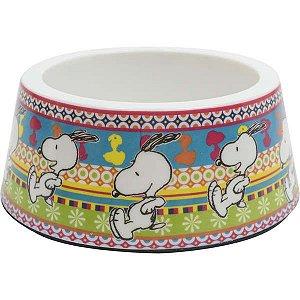Comedouro Melamina Zooz Pets Snoopy Unix