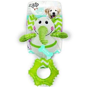 Brinquedo Cachorro Pelúcia Little Buddy Elephant Afp