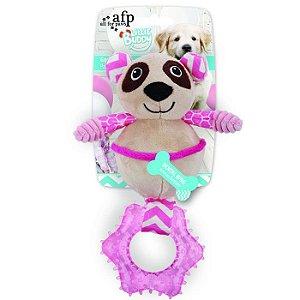 Brinquedo Cachorro Pelúcia Little Buddy Urso Panda Afp