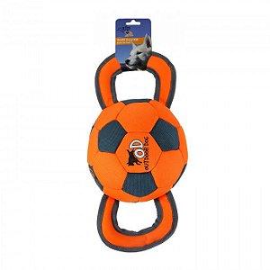 Brinquedo Cachorro Mordedor Ballistic Handle Ball Afp
