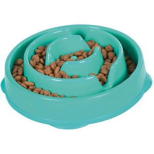 Comedouroo Cachorro Lento Fun Feeder Verde Pet Trends Grande