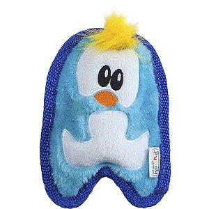Brinquedo Cachorro Resistente Invincibles Mini Pinguim