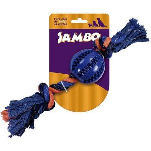 Brinquedo Para Cachorro Mordedor Blue Corda Dent Jambo