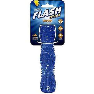 Brinquedo Para Cachorro Stick Light Flash Azul Jambo