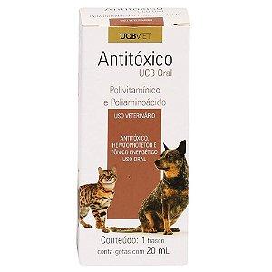 Medicamento Para Cachorro Antitoxico Ucb Oral 20ml