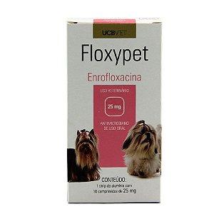 Medicamento Para Cachorro Floxypet Cartucho 10 comprimidos de 25 mg