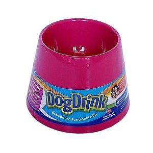 Bebedouro Elevado Cachorro Pet Games Pink