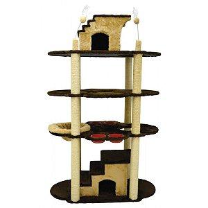 Arranhador Gato Grande São Pet Imperio Mr 84 x 123 x 194cm