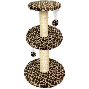 Arranhador Para Gatos São Pet Estampa de Girafa 50x86cm