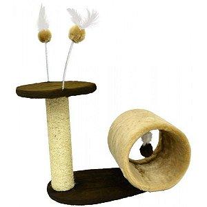 Arranhador Para Gato Snail Grande São Pet 30x53x45cm
