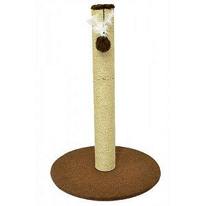 Arranhador Para Gato Obelisco São Pet  49x104cm