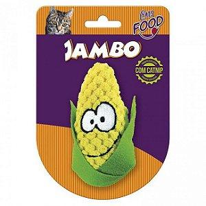 Brinquedo Para Gato Pelúcia Food Milho Amarelo Jambo