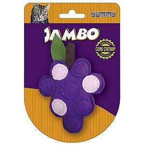 Brinquedo Para Gato Yummy Uva Roxo Jambo