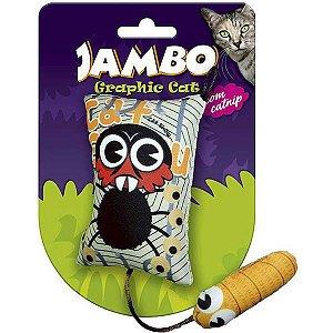 Brinquedo Para Gato Grafic Space Monkey Jambo