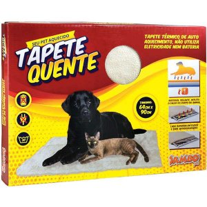 Tapete Térmico Para Cachorro Auto Aquecimento Grande Jambo