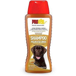 Shampoo Cachorro Pelos Escuros 500ml Procão