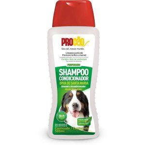 Shampoo e Condicionador Cachorro Erva Santa Maria 500ml