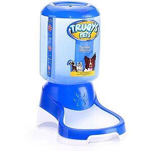 Comedouro ou Bebedouro Automático Truqys Pet Azul 1L