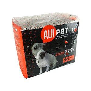 Tapete Higiênico Para Cachorro Carvão de Bambu 30 Unidades