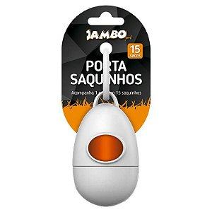 Kit Porta Saquinhos Coletores Branco Jambo
