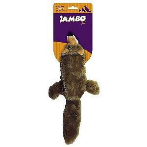 Brinquedos Para Cachorro Pelúcia Raposa Pequena Jambo
