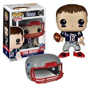 Boneco Funko Pop - Tom Brady - New England Patriots