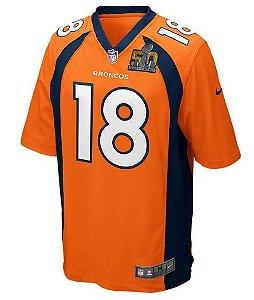 Jersey Game - Super Bowl 50 - Peyton Manning - Denver Broncos