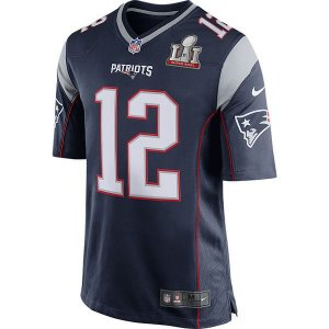 Jersey - Super Bowl LI - New England Patriots - Tom Brady