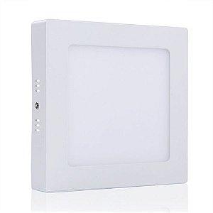 Plafon Quadrado Sobrepor LED 6 Watts - Bivolt