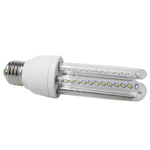 Lâmpada LED Econômica U 7 Watts (6.000K/Branca)