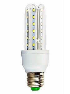 Lâmpada LED Econômica U 9 Watts (6.000K/Branca)