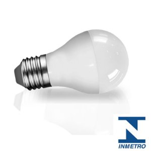 Lâmpada LED Bulbo 5 Watts - Bivolt (6.500K/Branca)