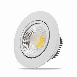 Spot LED 5 Watts Direcionável Redondo