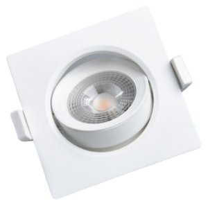 Spot LED Concept 5 Watts Quadrado 3.000k