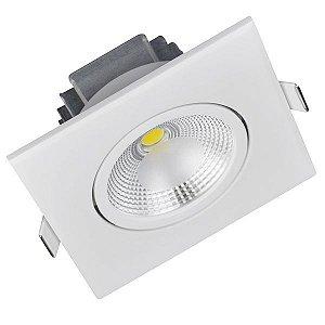 Spot LED 10 Watts Direcionável Quadrado