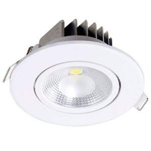 Spot LED 10 Watts Direcionável Redondo