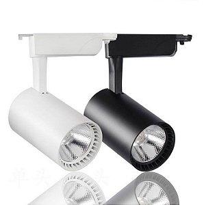 Spot LED Direcionável Trilho 30 Watts - Bivolt