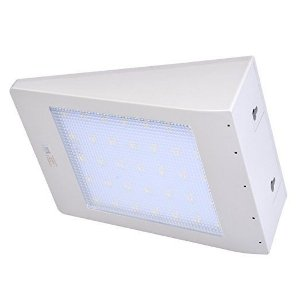 Arandela LED Solar com Sensor 3,5 Watts S/ Fio (6.000K/Branca)