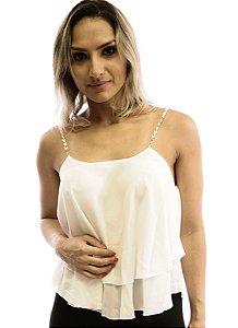 Blusa Corrente Branca