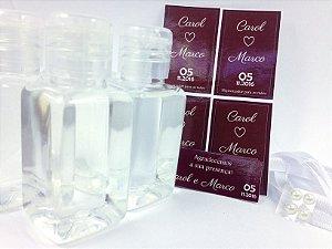 Mini Álcool Gel 50 ml - DIY