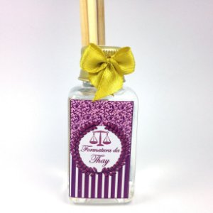 Mini Aromatizador 40 ml Classic Formatura Rosa e Dourado