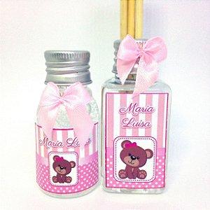 Kit Mini Álcool gel 30 ml e Mini Aromatizador 40 ml Classic
