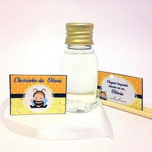 Lembrancinha Mini Aromatizador Difusor 30 ml Basic com tag - DIY - Faça você mesmo