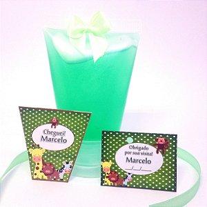 Lembrancinha Mini Alcool gel 40 ml Bisnaga Classic - DIY - Faça você mesmo