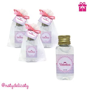 Lembrancinha Maternidade Álcool gel 40 ml Personalizado